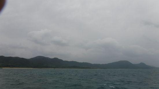 曇りの天気はまだまだ続く