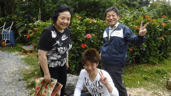 K内さんご夫婦とO田さんです。