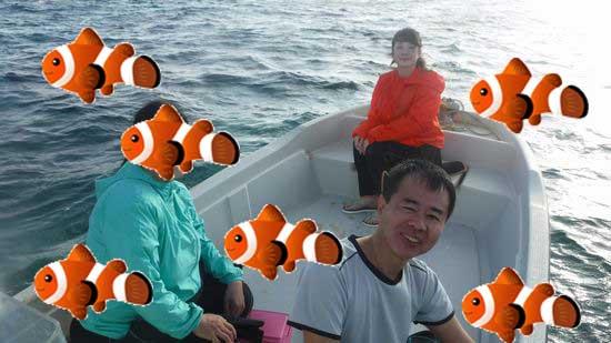 O川さんご夫婦とI田さんです。
