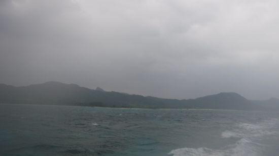 曇り模様の一日になりました。