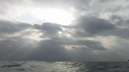 あいにくの曇り模様です。