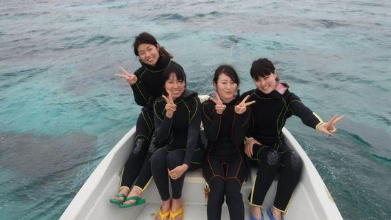 S井さん、M田さん、O島さん、N野さんです。