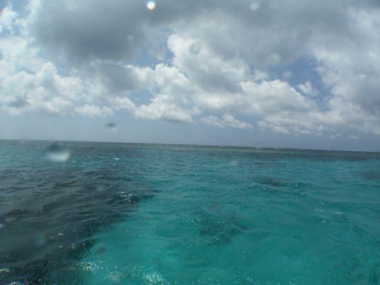 今日も海はキレイでした