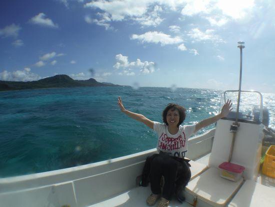 海を独り占めのK山さん
