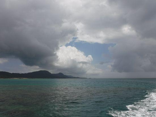 午前は曇り模様でしたが