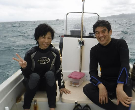 一日コースのM井さんとT岡さん