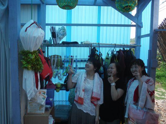 女子旅です!I田さん、T渕さん、Y崎さんです