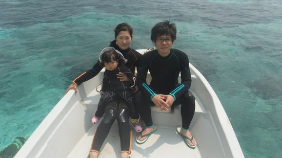 S木さんご家族です。