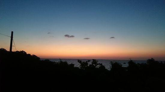 6時すぎの石垣島です