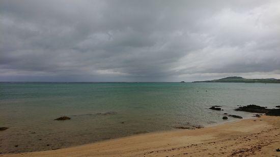どんより曇りの石垣島です。