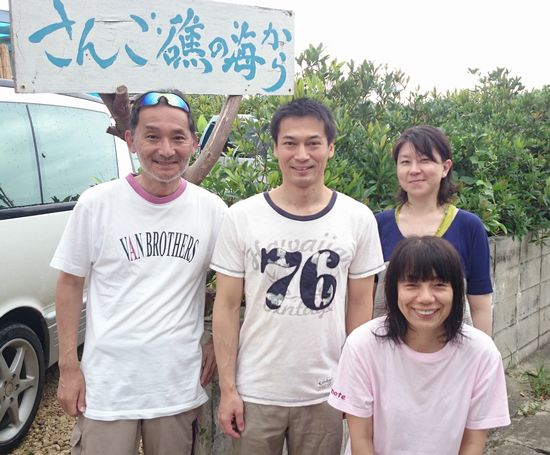午後のツアーにお越しは、K堂さんご夫婦とC南さん、K村さんです。