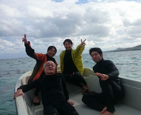 K津さんご家族です。