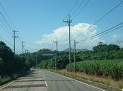 夏雲もくもくと。