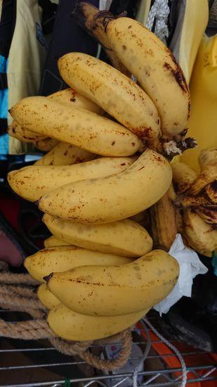 島バナナが食べごろを迎えています。