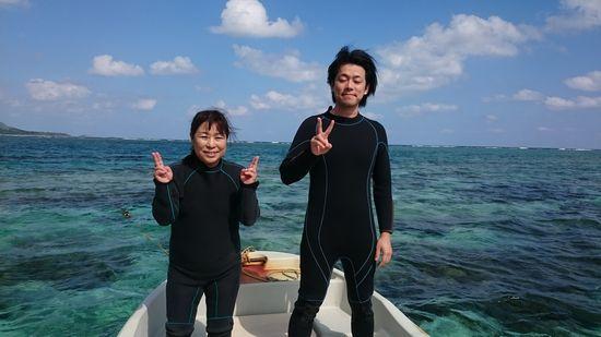リピーターI井さんとY田さんです。