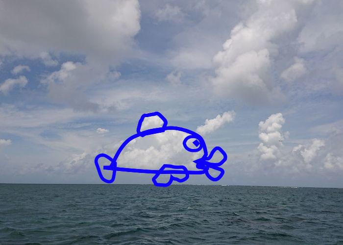 お魚さんみたい