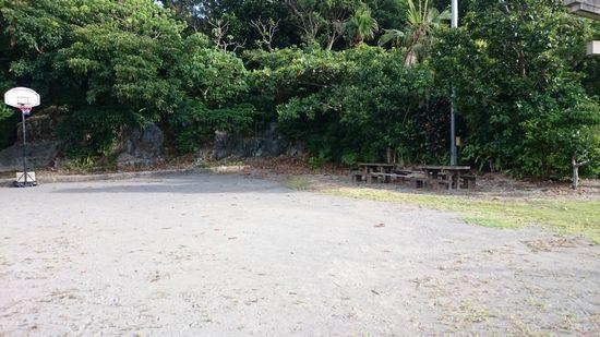 公民館横のグランドゴルフ場