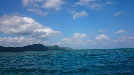青空広がる良い天気です。