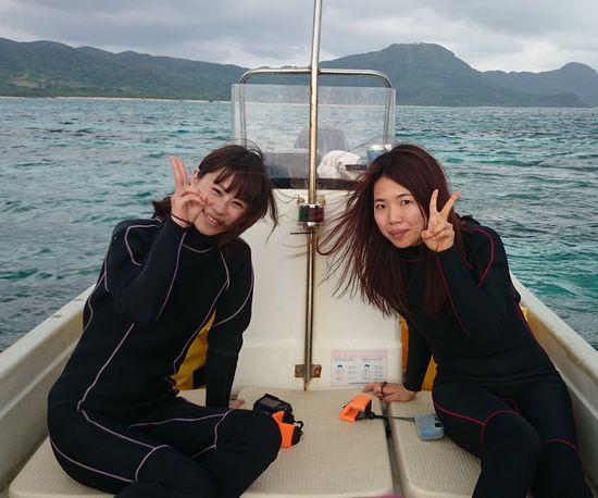 一人旅でご参加のN村さんとO田さんです