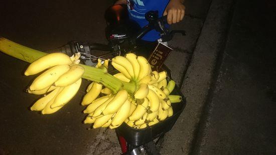 島バナナ、頂きました