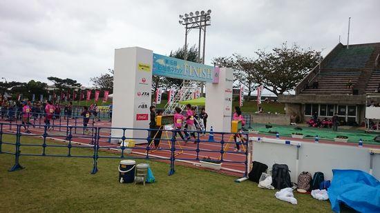石垣島マラソンです