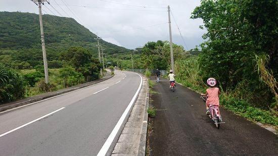 玉取崎展望台までサイクリング