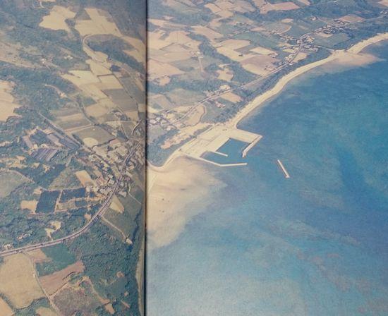 昔の航空写真