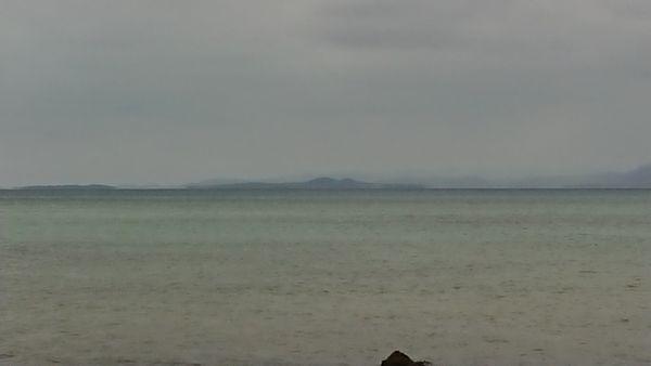 西表島と小浜島が見えますね!