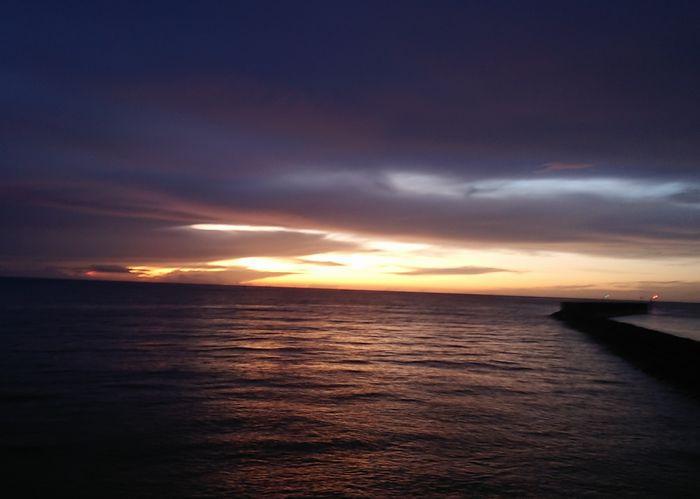 今日の石垣島の朝日