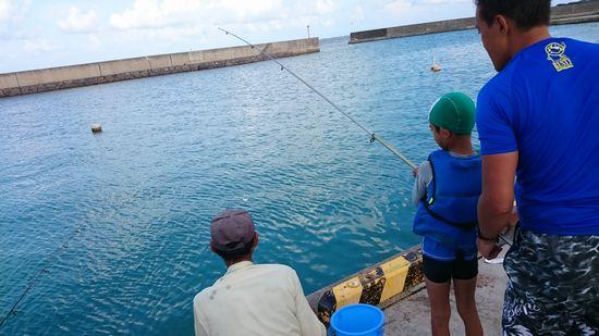 釣り体験をさせて頂きました