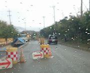 あ~雨で。。。
