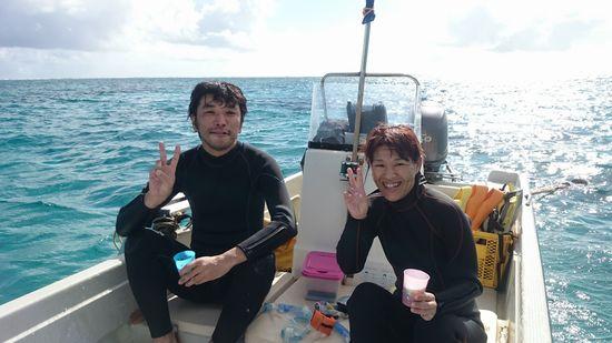 K田さんとMさんです。