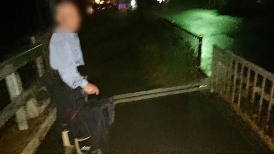 H三さんと夜のお散歩