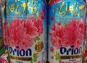 オリオンビール、一番桜ですね