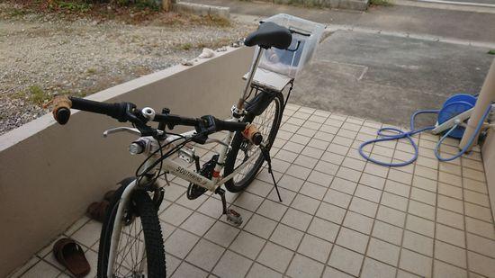 自転車でかごには、