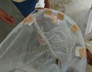 虫網の補修