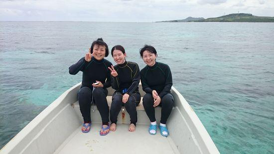 リピーターA川さんとMさん、M中さんです。