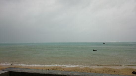 案外、海は穏やかです