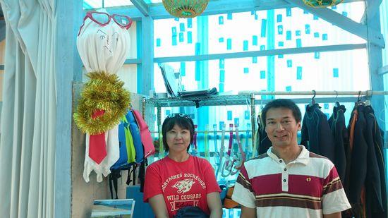 リピーターのC南さんとK村さんです