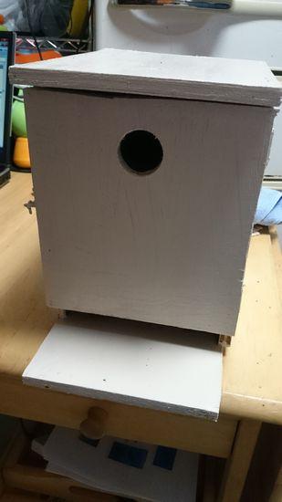 巣箱完成!