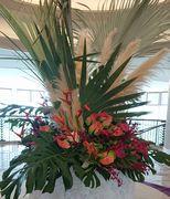 ホテルの生け花