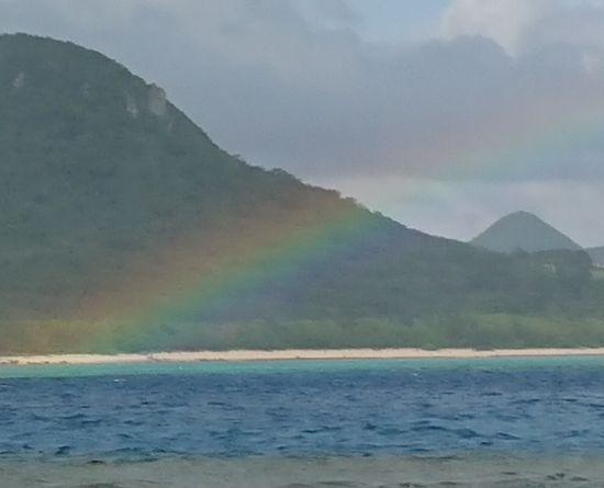 虹の登場です♪