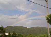 虹の登場です