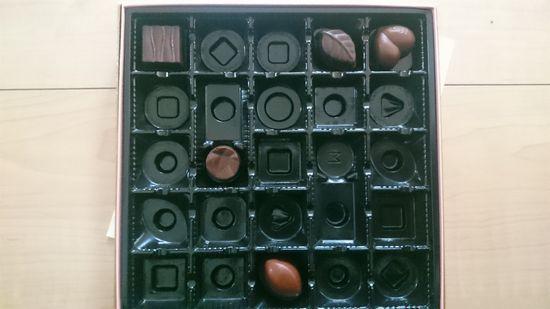 チョコレート。減ってませんか?