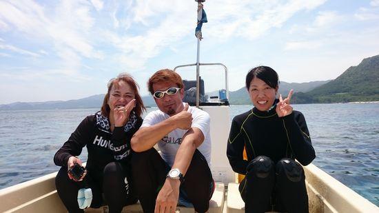 リピーターM尾さんとS井さんです。