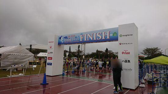 昨日は石垣島マラソンでした