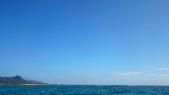 今日も青空が広がります。