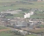 製糖工場。