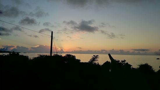 綺麗な朝日快晴の予感!