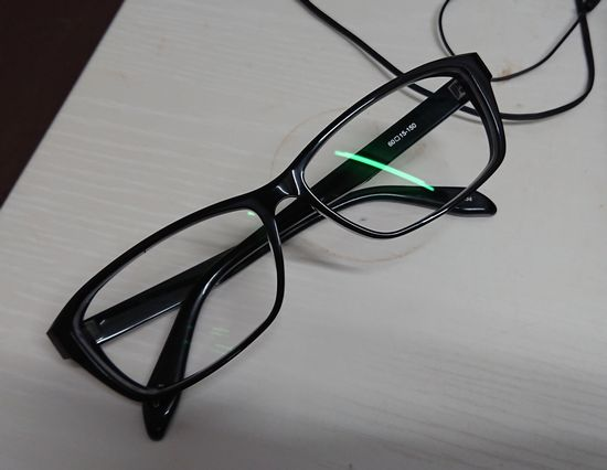 メガネを購入してみました。